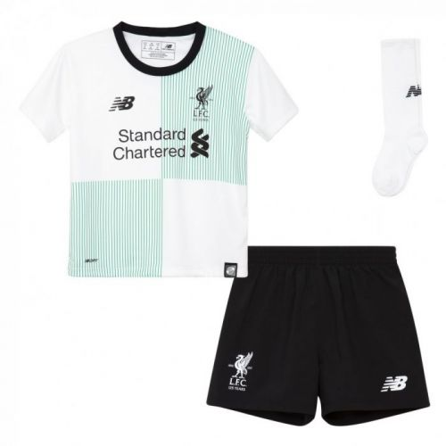 af3aa483799 LIVERPOOL FC YOUTH INFANT AWAY KIT 17 18