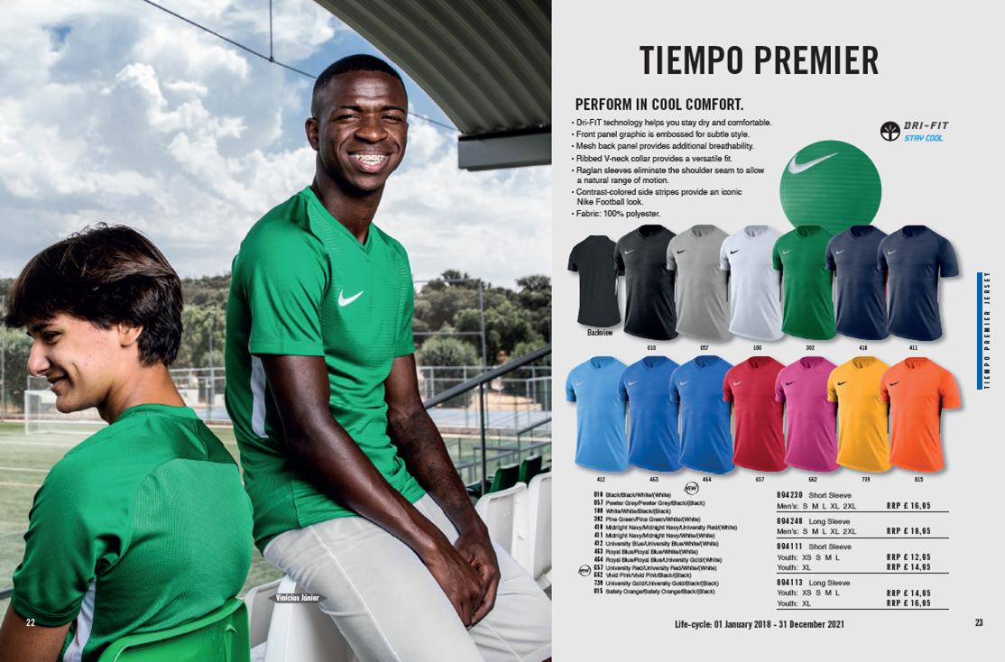 Nike Teamwear Catalogue | Newmarket Sports