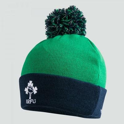efb00483ad8187 IRELAND ACRYLIC BOBBLE HAT | Newmarket Sports